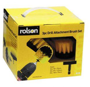 3pc Drill Brush Set