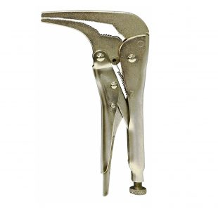 180mm Bent Nose Locking Pliers » Toolwarehouse » Buy Tools Online