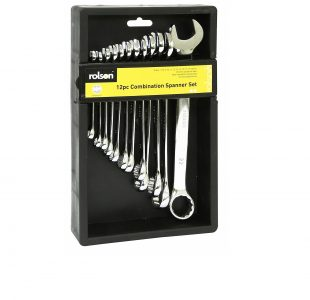 12pc Combi Spanner Set » Toolwarehouse » Buy Tools Online