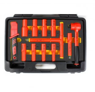 Tool set for electricians