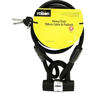 Heavy Duty Cable & Lock