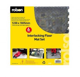 6pc Floor Mat Set