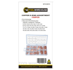 150pcs Copper Washer Assortment » Toolwarehouse » Buy