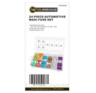 24pcs Automotive Maxi Fuse Set » Toolwarehouse » Buy Tools Online