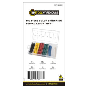 100pcs Color Shrinking Assortment » Toolwarehouse » Buy Tools Online