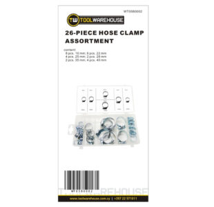 26pc Hose Clamp Assortment » Toolwarehouse » Buy Tools Online