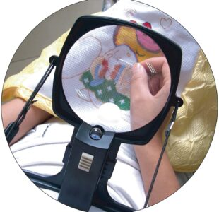 Hands Free Magnifier