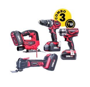 4pcs Power Tools Combo 3 » Toolwarehouse » Buy Tools Online