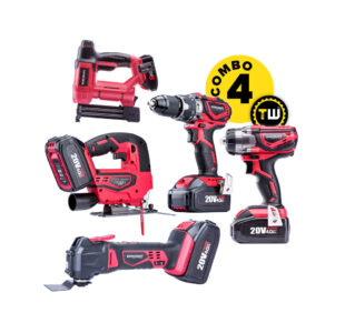 5pcs Power Tools Combo 4 » Toolwarehouse » Buy Tools Online