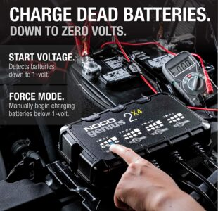 4-Bank Battery Charger - Maintainer and Desulfator