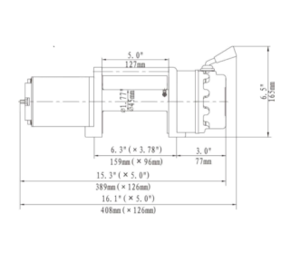 12V Electric Winch 5500lbs