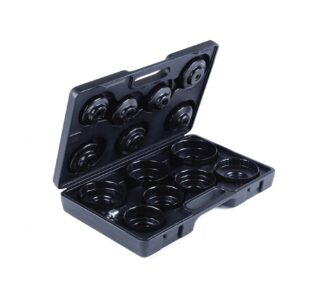 Oil filter socket set, 15-piece » Toolwarehouse » Buy Tools Online