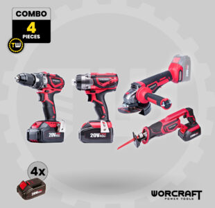 4pcs Power Tool Combo » Toolwarehouse » Buy Tools Online