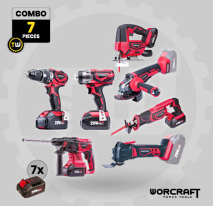 7pcs Power Tool Combo » Toolwarehouse » Buy Tools Online