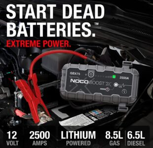 2500 Amp UltraSafe Lithium Jump Starter