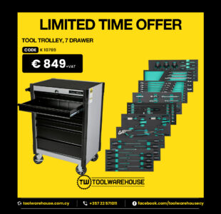 7 DRAWER TOOL CABINET SPECIAL OFFER