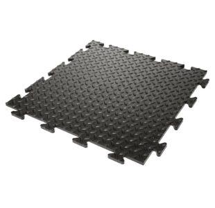 Heavy Duty Checker Plate PVC Tiles » Toolwarehouse